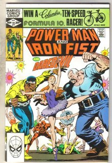 Power Man and Iron Fist #77 comic book very fine 8.0