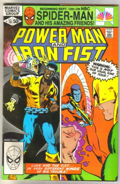 Power Man and Iron Fist #76 comic book very fine 8.0