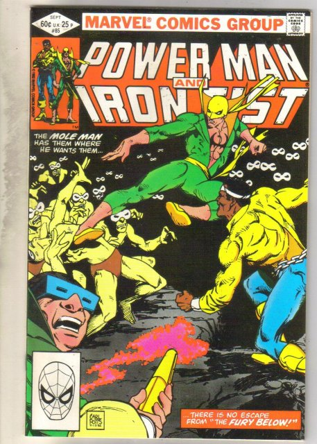 Power Man and Iron Fist #85 comic book very fine 8.0