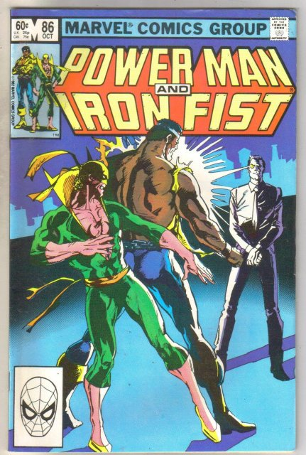 Power Man and Iron Fist #86 comic book very fine 8.0