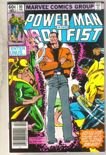 Power Man and Iron Fist #90 comic book near mint 9.4