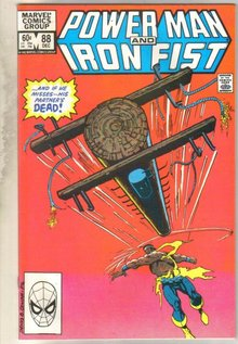 Power Man and Iron Fist #88 comic book near mint 9.4