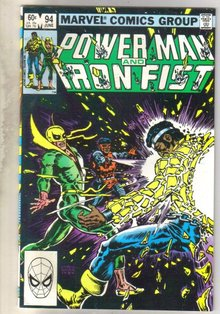 Power Man and Iron Fist #94 comic book near mint 9.4