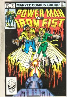 Power Man and Iron Fist #93 comic book near mint 9.4