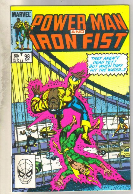 Power Man and Iron Fist #98 comic book near mint 9.4