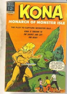 Kona Monarch of Monster Isle #15 comic book very good 4.0