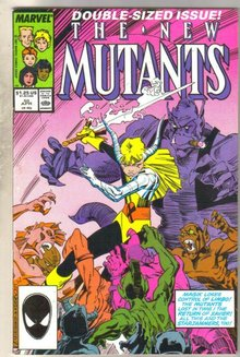 New Mutants #50 comic book fine 6.0