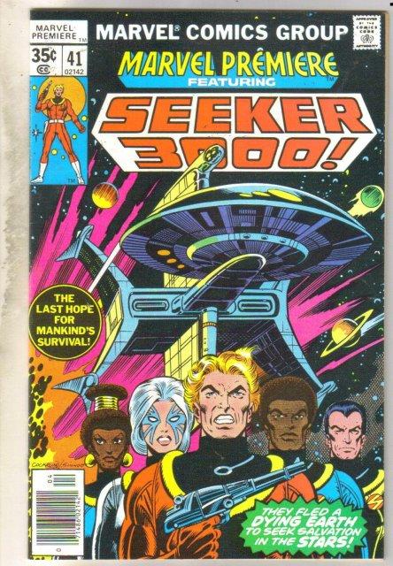 Marvel Premiere #41 (Seeker 3000!) comic book near mint 9.4