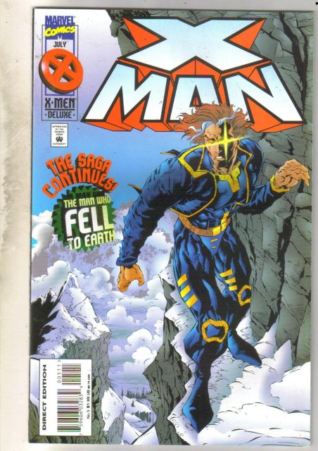 X Man #5 comic book near mint 9.4