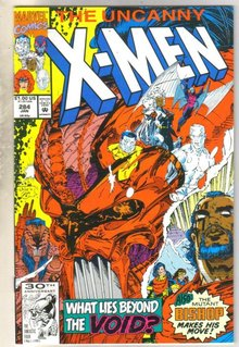 Uncanny X-men #284 comic book near mint 9.4