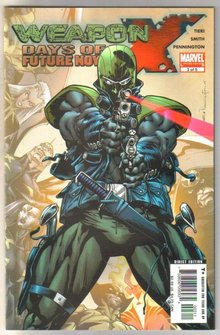 Weapon X Days of Future Now #3 comic book near mint 9.4