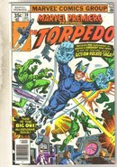 Marvel Premiere #39 (Torpedo) comic book near mint 9.4