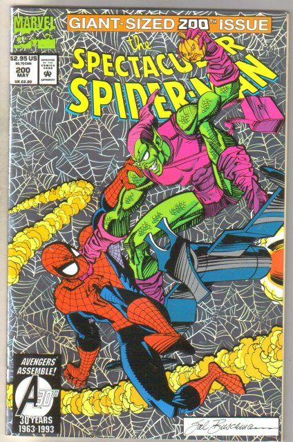 Spectacular Spider-man #200 comic book mint 9.8