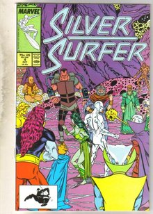 Silver Surfer #4 comic book near mint 9.4