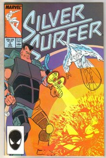 Silver Surfer #5 comic book near mint 9.4