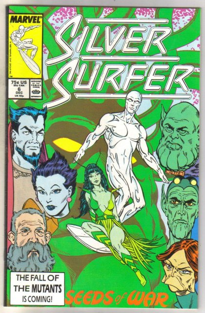 Silver Surfer #6 comic book near mint 9.4
