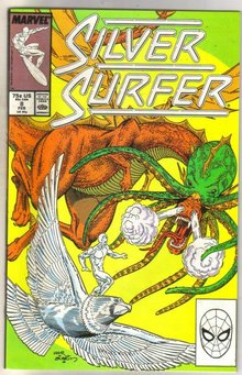 Silver Surfer #8 comic book near mint 9.4