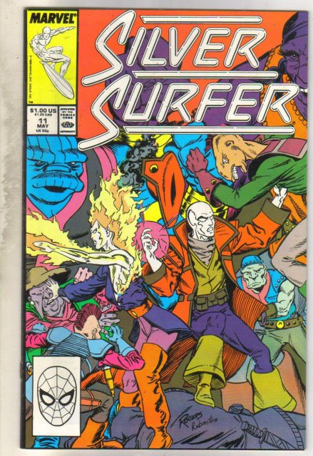 Silver Surfer #11 comic book near mint 9.4