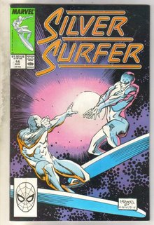 Silver Surfer #14 comic book very good 4.0