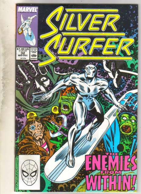 Silver Surfer #32 comic book near mint 9.4