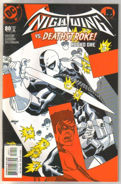 Nightwing #80 comic book near mint 9.4