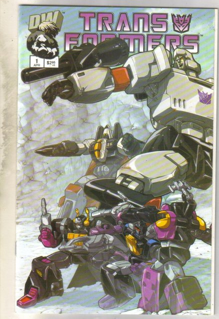 Transformers Generation 1 #1 comic book mint 9.8
