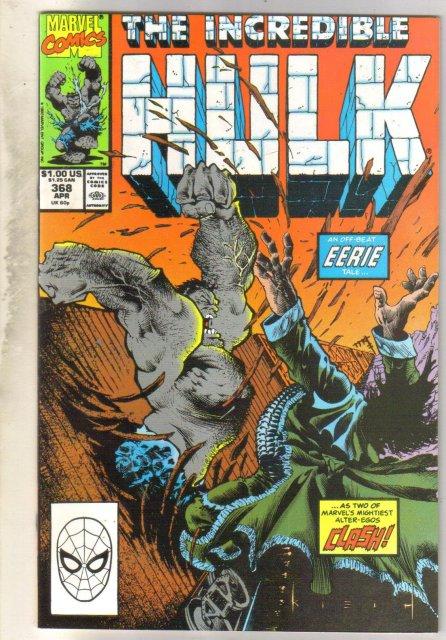 Incredible Hulk #368  comic book near mint 9.4