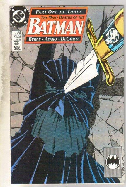 Batman #433 comic book near mint 9.4