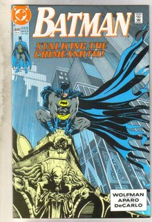 Batman #444 comic book near mint 9.4