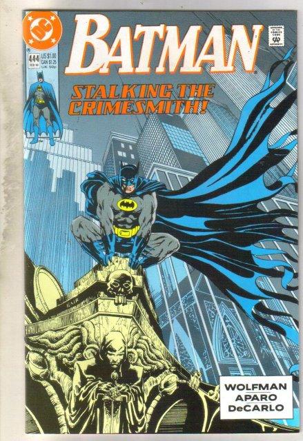 Batman #444 comic book near mint 9.4