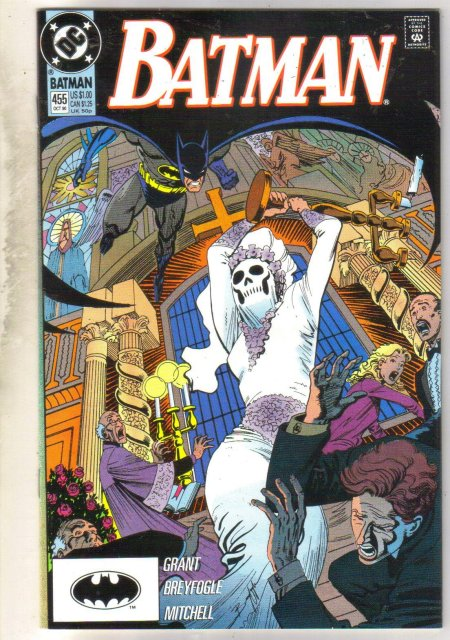 Batman #455 comic book near mint 9.4