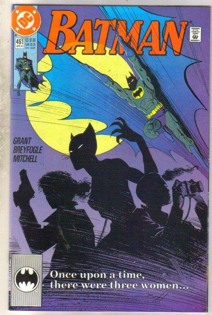 Batman #461 comic book near mint 9.4