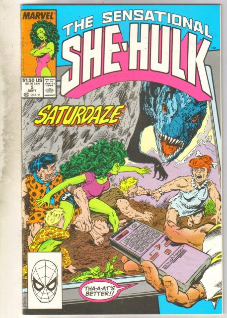 Sensational She-Hulk #5 comic book mint 9.8
