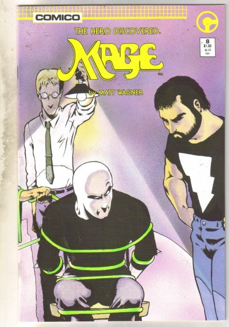 Mage #8 comic book mint 9.8