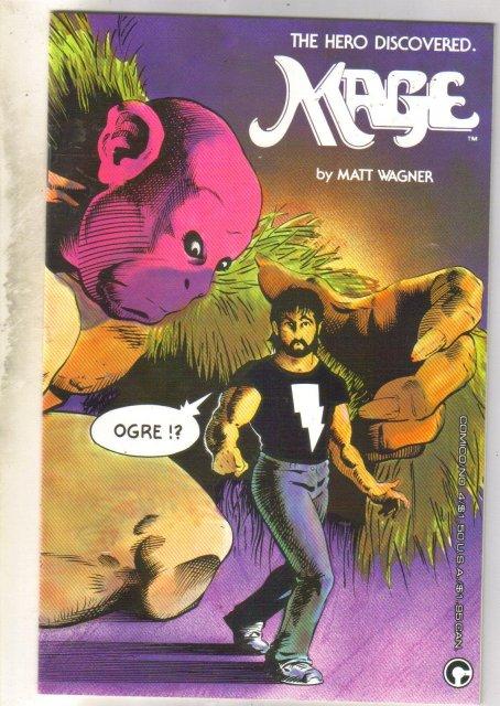 Mage #4 comic book near mint 9.4