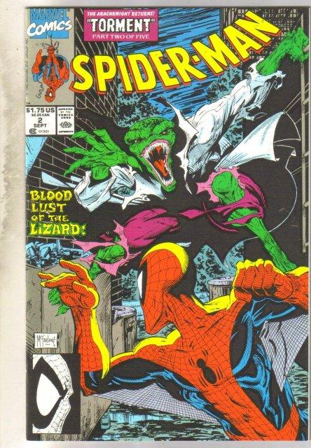 Spider-man #2 comic book mint 9.8