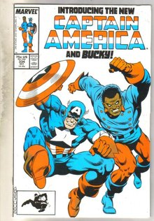 Captain America #334 comic book very good 4.0