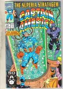 Captain America #391 comic book near mint 9.4