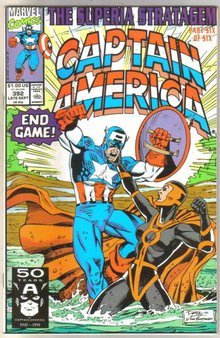 Captain America #392 comic book near mint 9.4