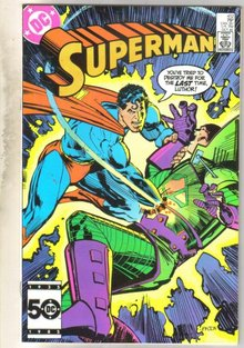 Superman #412 comic book near mint 9.4