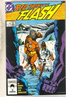Flash #7 comic book near mint 9.4
