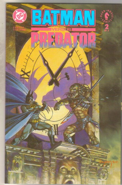 Batman Vs. Predator #2 comic book  mint 9.8