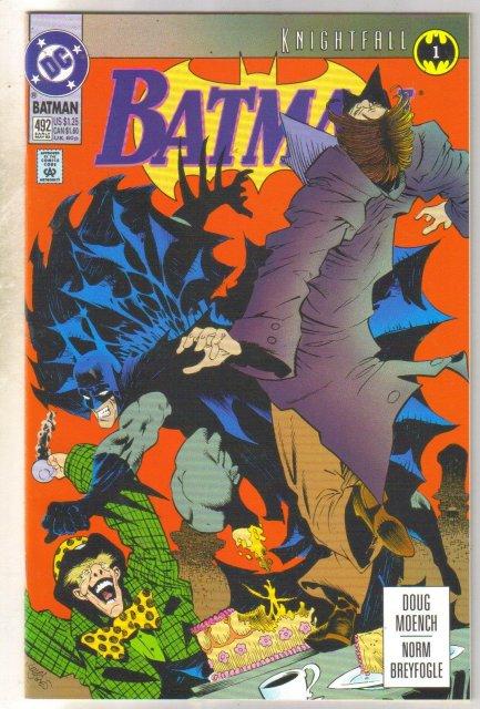 Batman #492 comic book  near mint 9.4