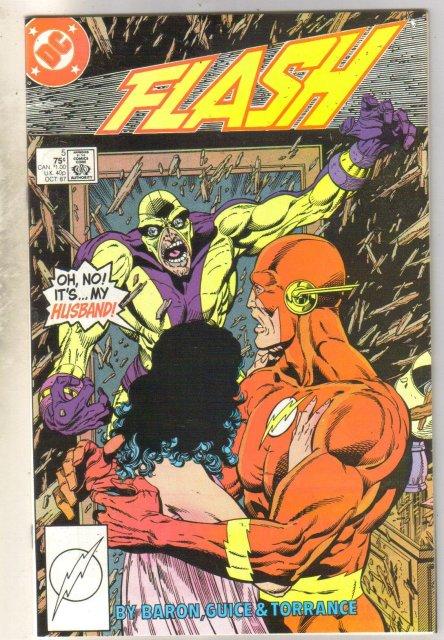 Flash #5 comic book mint 9.8