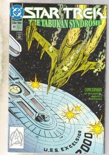 Star Trek #40 comic book near mint 9.4