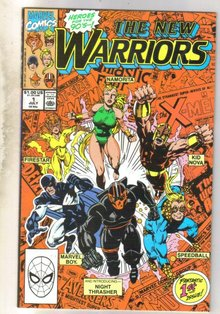 New Warriors #1 comic book very fine 8.0