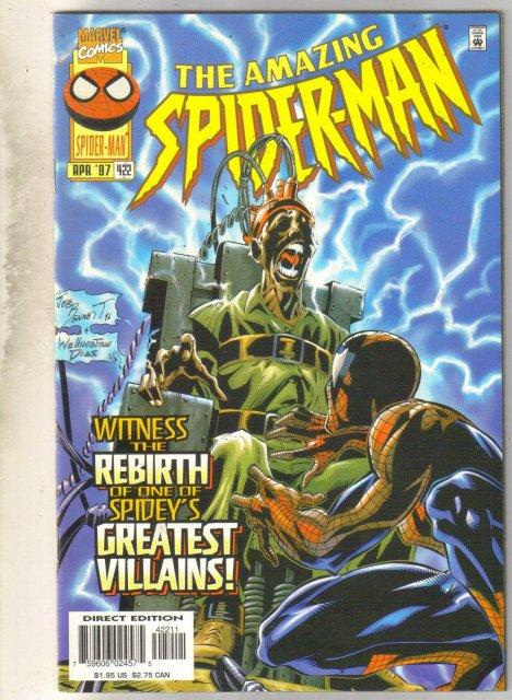 Amazing Spider-man #422 comic book near mint 9.4