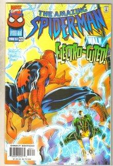 Amazing Spider-man #423 comic book near mint 9.4