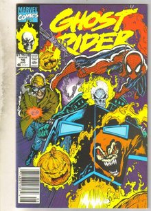 Ghost Rider #16 comic book mint 9.8