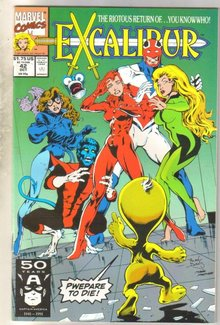 Excalibur #42 comic book mint 9.8